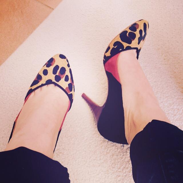 Chausser des minis pieds