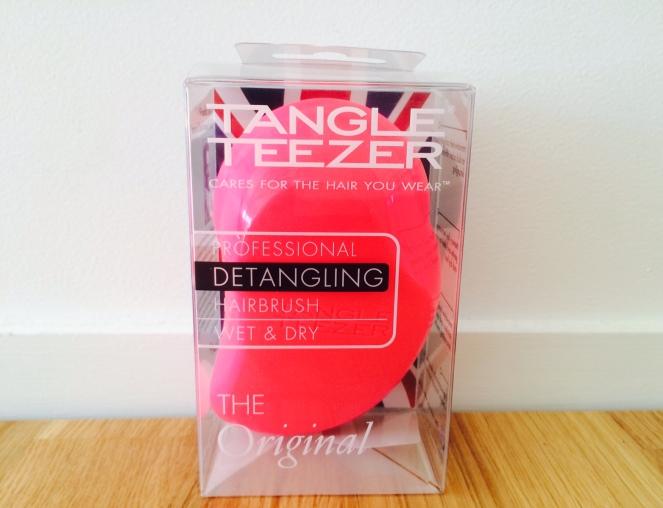 Tangle teezer : une petite brosse compacte, un concentré d'innovation
