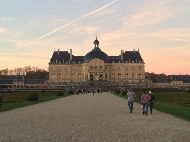 Vue du Château de Vaux-le-Vicomte depuis le Jardin - Photo Willy.H